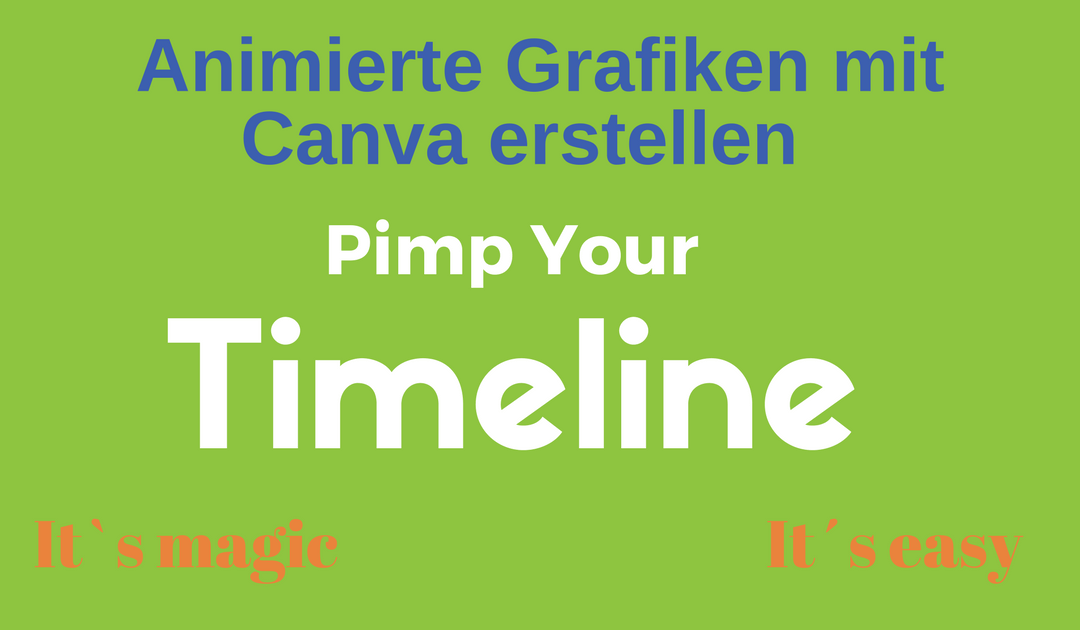 Neues Feature bei Canva: animiertes Design